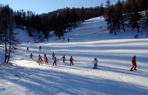 Ski dans les Alpes du Sud via Flickr : Pim Horvers