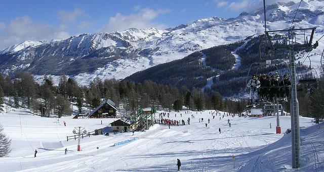 Pistes de ski à Vars via Flickr : Xavier Rodríguez
