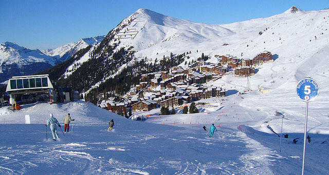 Belle Plagne via Flickr : James Preston