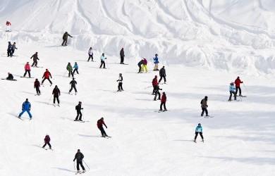 Séjour aux sports d'hiver en famille