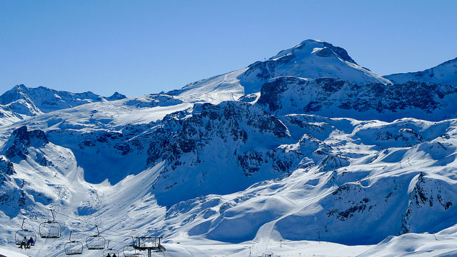 Glacier de la Grande Motte via Flickr : Jerome Bon