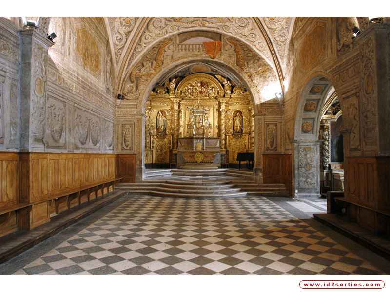 Chapelle baroque du musee dauphinois | © w12.fr