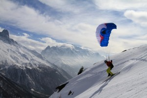 La Parapente ski