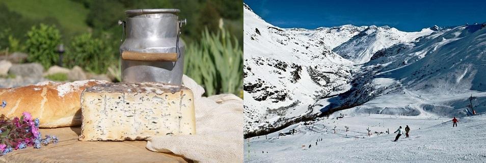 Bleu de Bonneval-Fromage et Ski