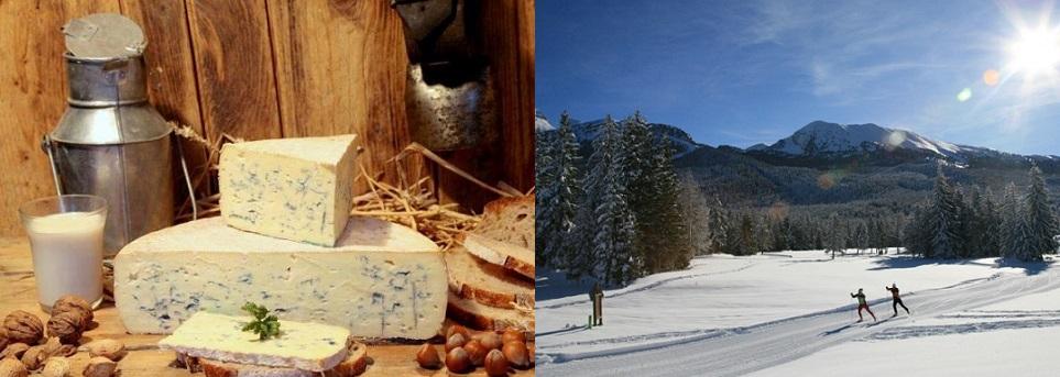 Bleu Vercors Ski et Fromage