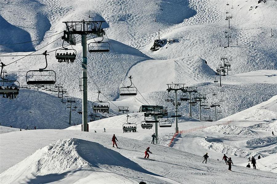 Piau Engalay la neige à noël