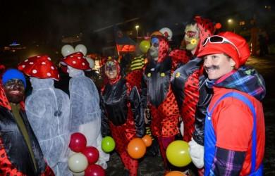 Carnaval de la Clusaz ski en février
