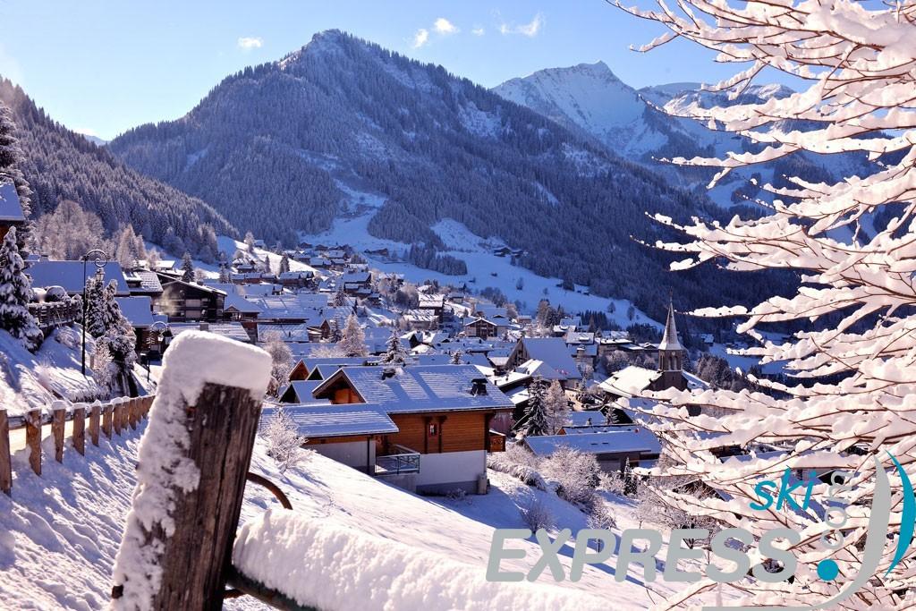 Chatel skier Alpes du Nord