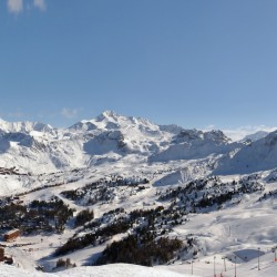 Première minute ski