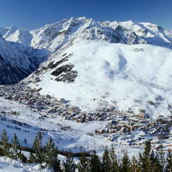 Les 2 Alpes, un domaine skiable de haute altitude