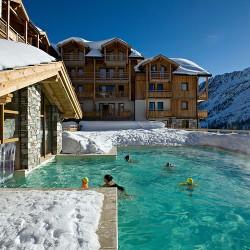 Top 5 R�sidences Haut de Gamme au ski avec piscine !